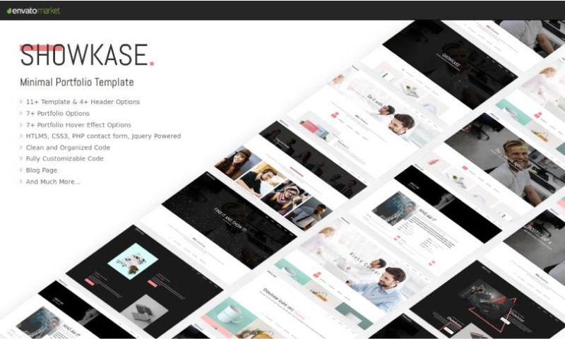 IqonicDesign - Showkase - Minimal Portfolio Template