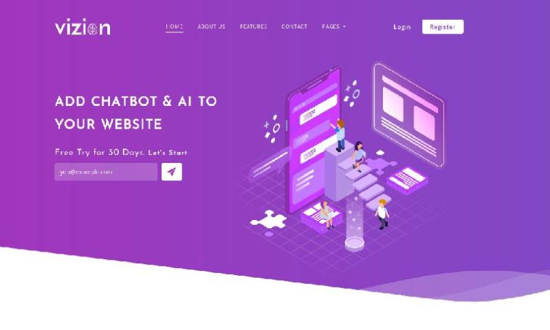 IqonicDesign - Vizion - AI Startups Responsive HTML5 Template