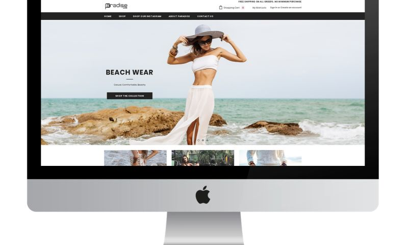 Evolve Ad Agency - Paradise Fashion