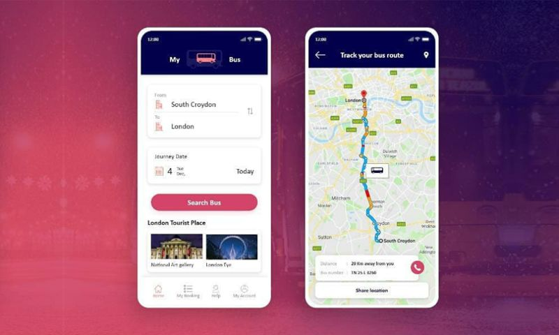 Mindinventory - My bus - Bus Ticket Booking App