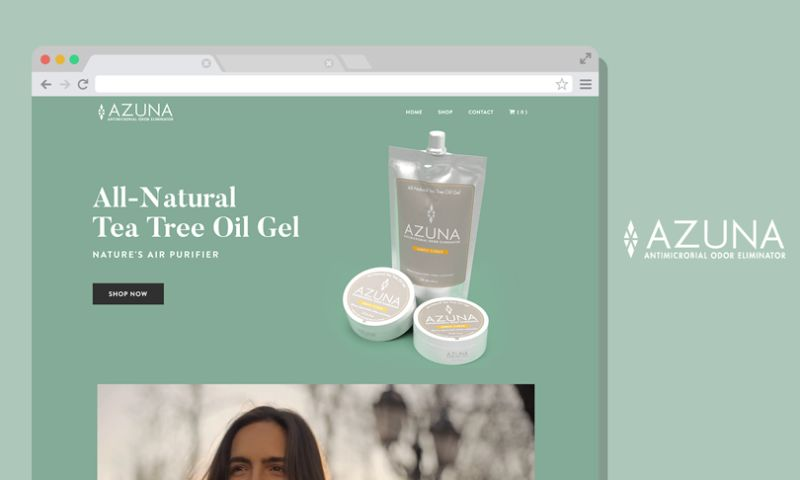 Scale Digital Marketing - Azuna Ecommerce Website