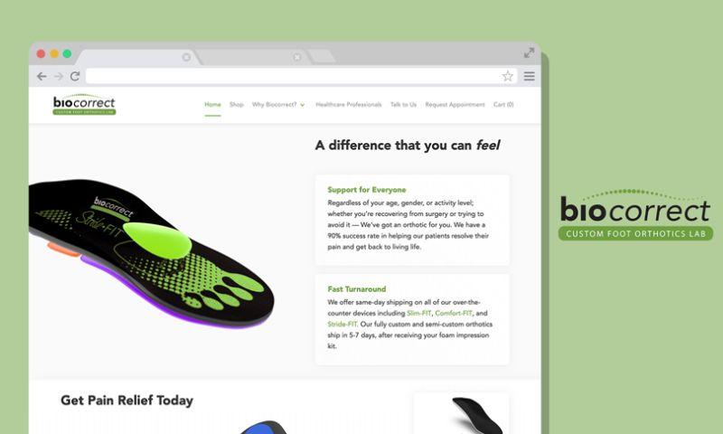 Scale Digital Marketing - BioCorrect Ecommerce Website