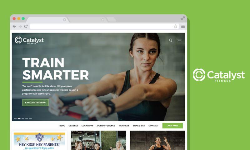 Scale Digital Marketing - Catalyst Fitness Website