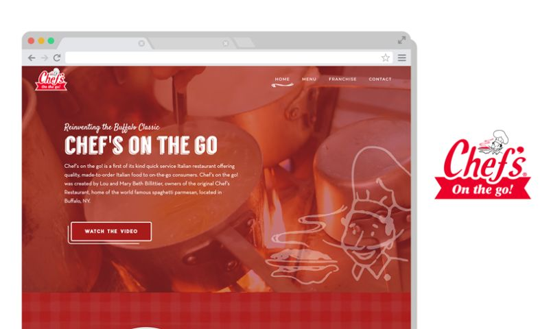 Scale Digital Marketing - Chef's on the Go Website
