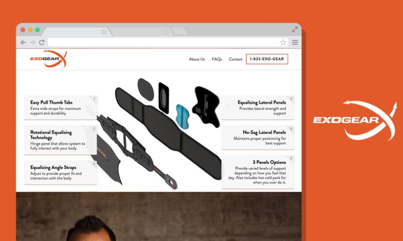 Scale Digital Marketing - Exogear Website