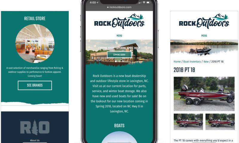 Wildfire - RockOutdoors Website