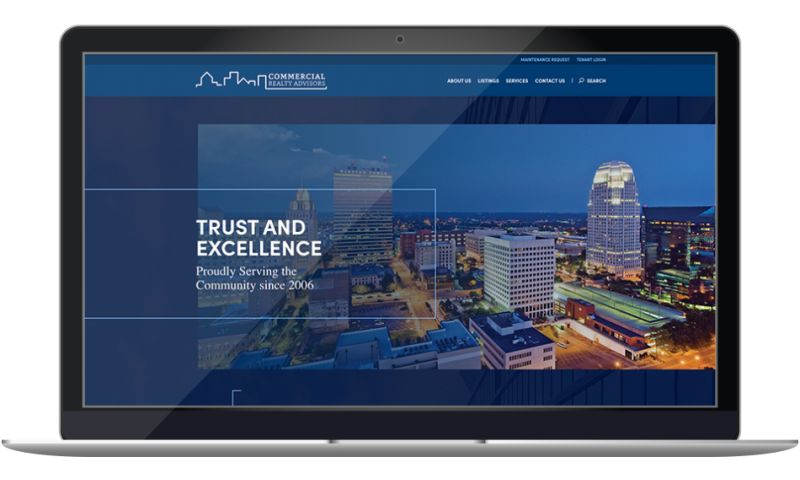 Wildfire - Commercial Realty Advisors Website
