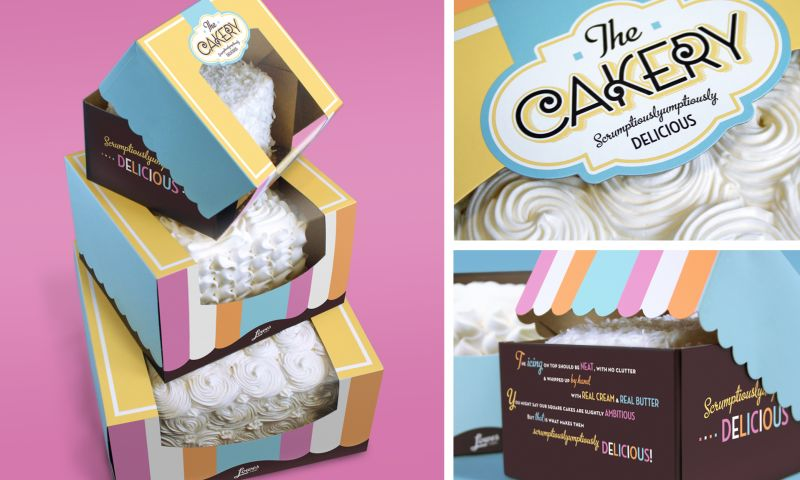 Wildfire - Lowes Foods The Cakery Packaging