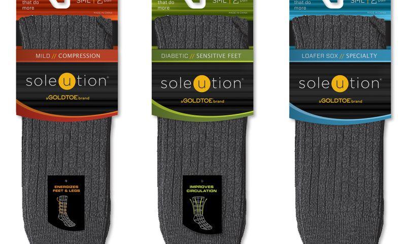 Wildfire - Goldtoe Soleution Packaging