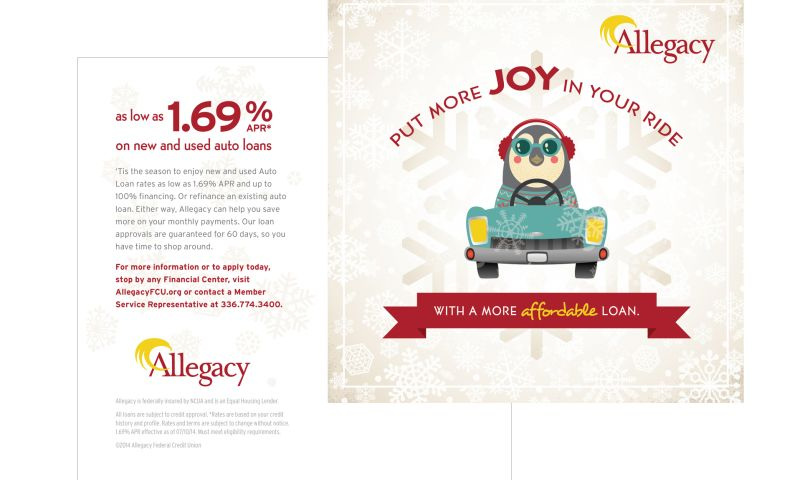 Wildfire - Allegacy Federal Credit Union Direct Mail
