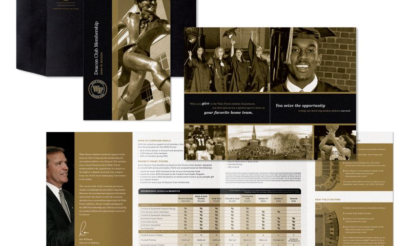 Wildfire - Wake Forest Deacon Club Direct Mail