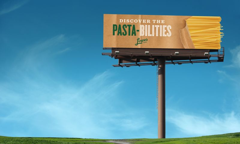 Wildfire - Lowes Foods Billboards