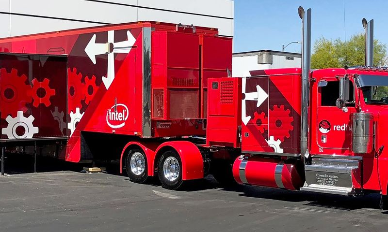 Wildfire - Red Hat Truck Wrap