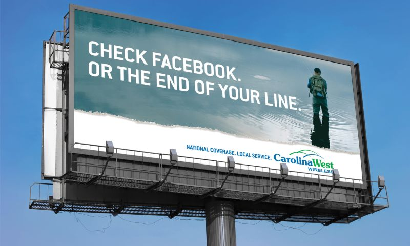 Wildfire - Carolina West Wireless Billboard
