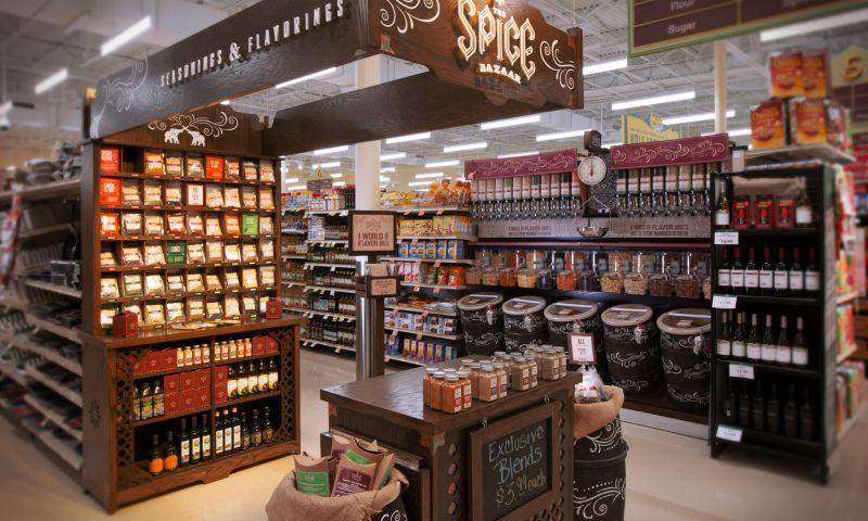 Wildfire - The Spice Bazaar Environment Branding & Environment