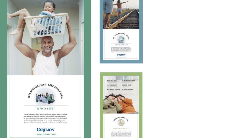 Wildfire - Carilion Clinic Print Campaign