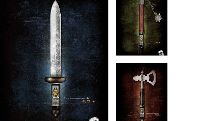 Wildfire - Coca-Cola/Gladiator Print Campaign