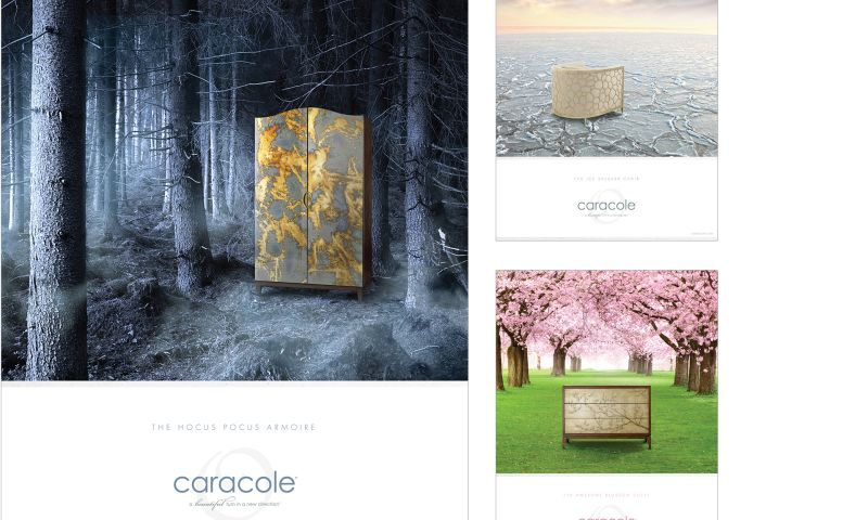 Wildfire - Caracole Print Campaign