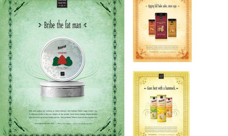 Wildfire - Salem Baking Company Print Campaign
