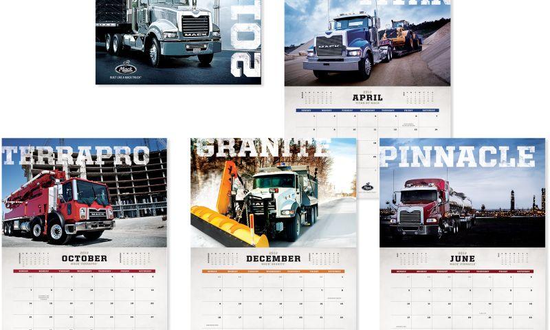 Wildfire - Mac & Volvo Trucks Calendar