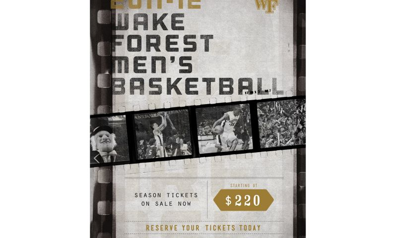 Wildfire - Wake Forest Basketball Campaign
