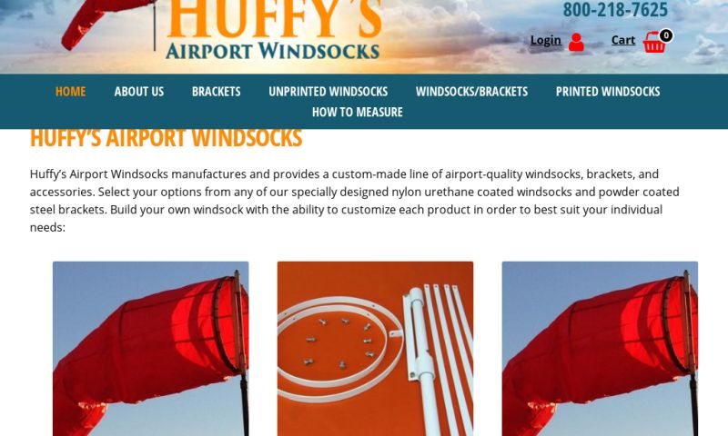 TypeTrail Media - Huffy's Airport Windsocks