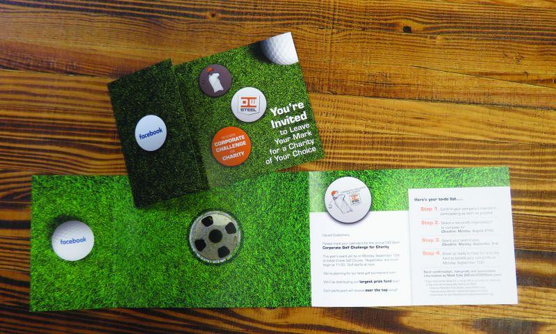Identity Marketing Group - Custom Golf Invitation
