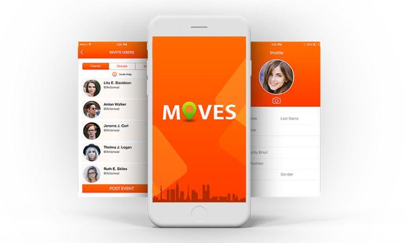 Biz4Solutions LLC - Moves - Social App