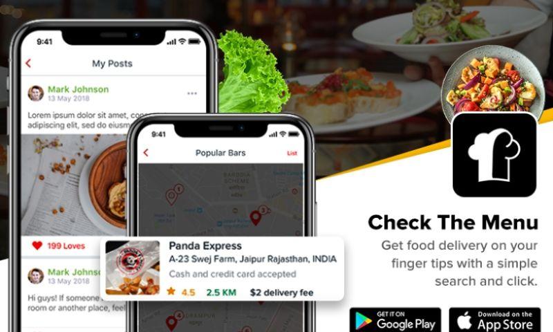 KONSTANT INFOSOLUTIONS - Restaurant Menu and Food Ordering App
