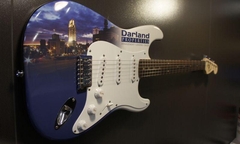 Identity Marketing Group - Custom Fender Guitar