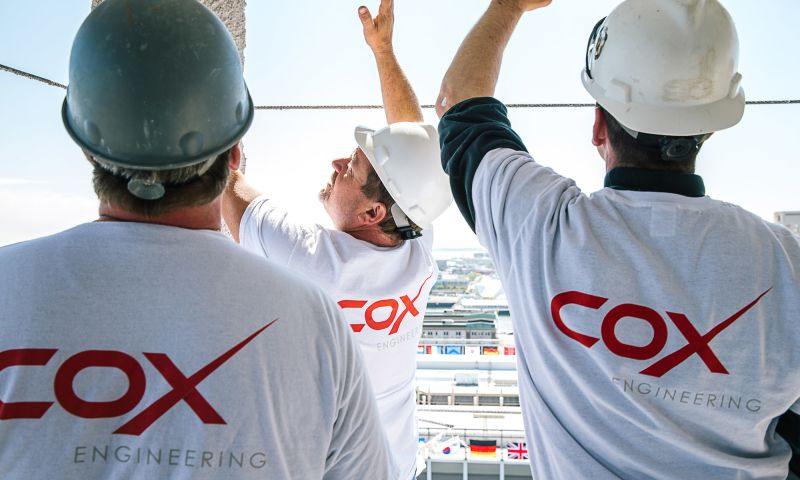 KHJ - COX ENGINEERING | UNIFYING A BRAND. UNITING A COMPANY.