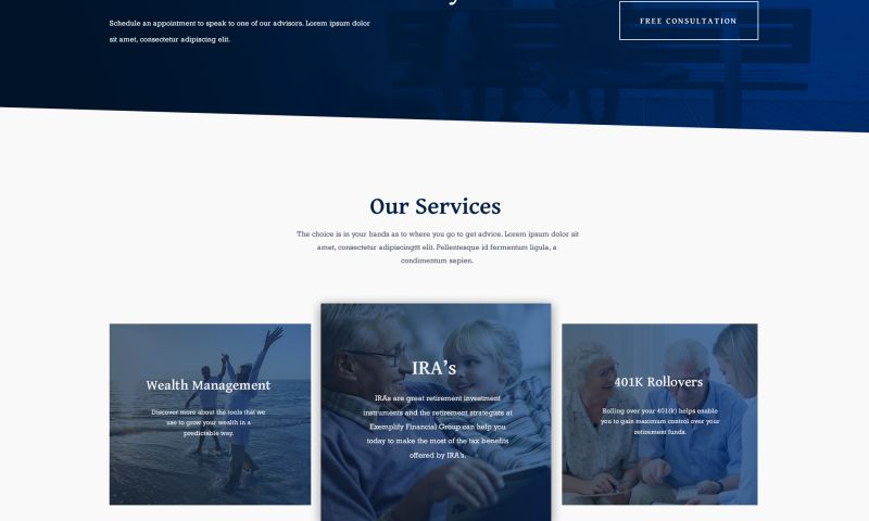 Philwebservices, INC. - Financial Industry Client