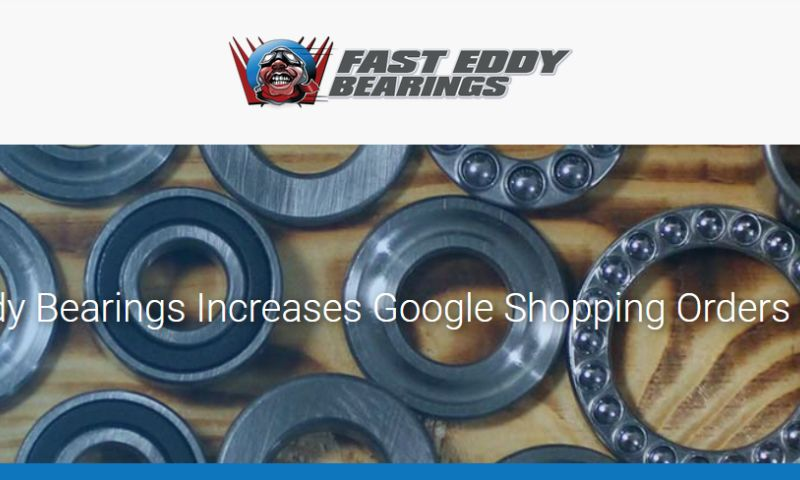 OperationROI - Fast Eddy Bearings Increases Google Shopping Orders by 500%