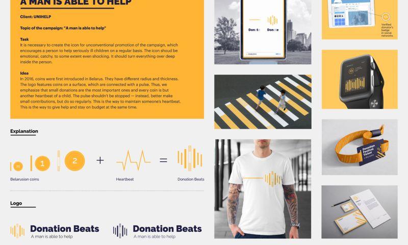 Moloko Creative agency - Unihelp project