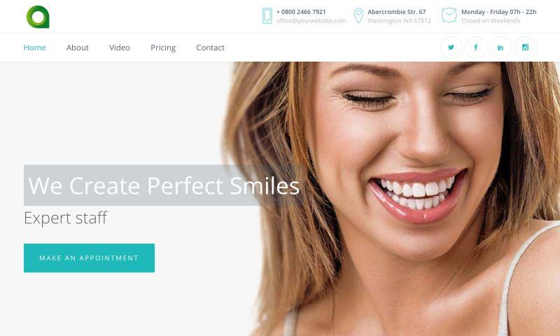 Website Pro - Local Dental Website