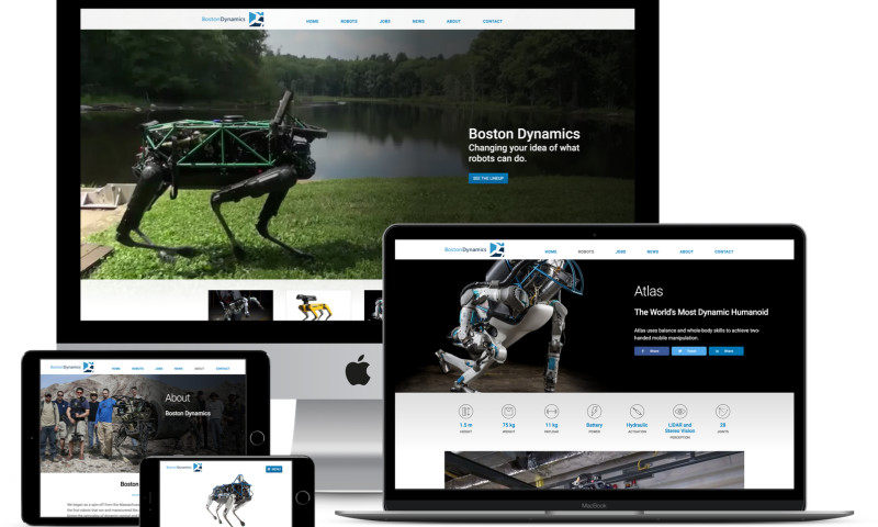 Isovera Inc - Boston Dynamics: Mobile Optimization and Autoplay Video Redesign