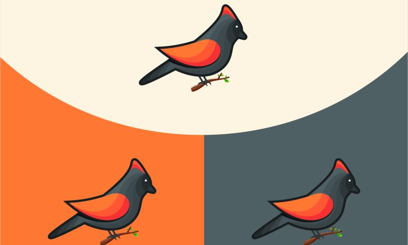 Saeculum Solutions Pvt Ltd - Bird Illustration