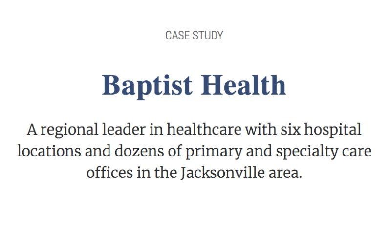 PCR Agency - Baptist Health Case Study