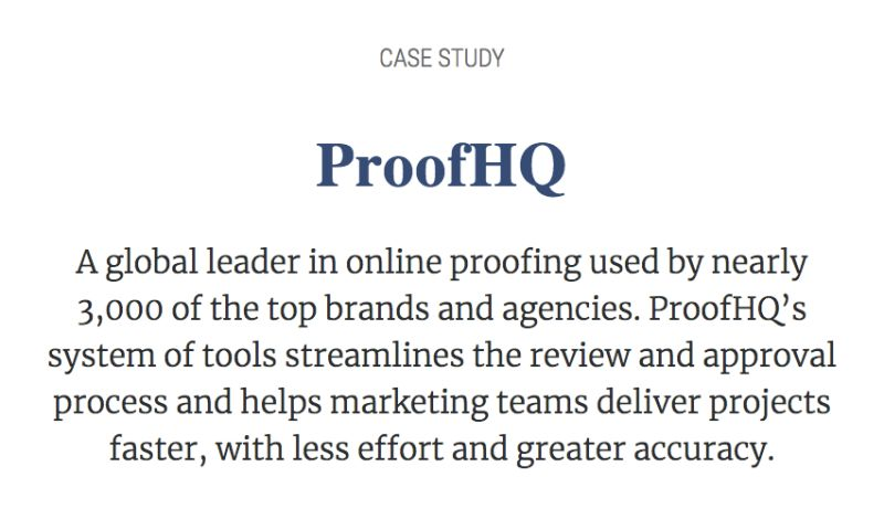 PCR Agency - Proof HQ