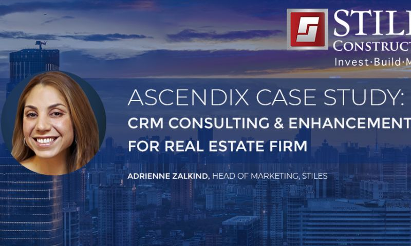 Ascendix Technologies - Dynamics 365 Case Study: CRM Consulting & Enhancements for Stiles