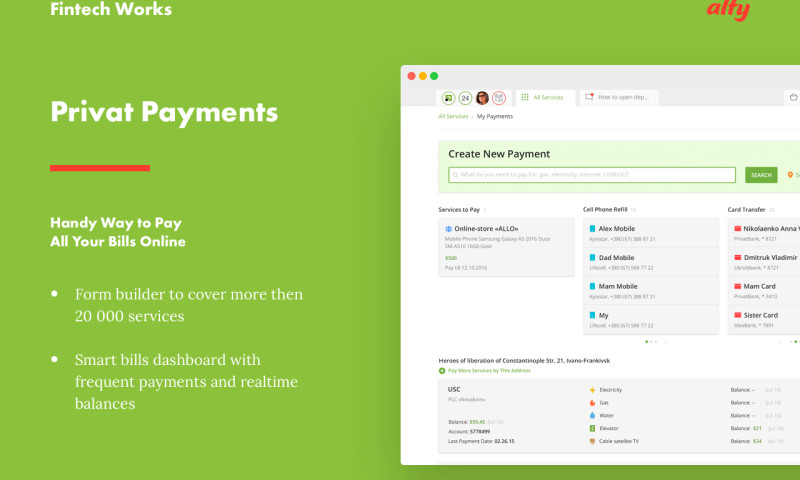 Alty - Online Payment Service
