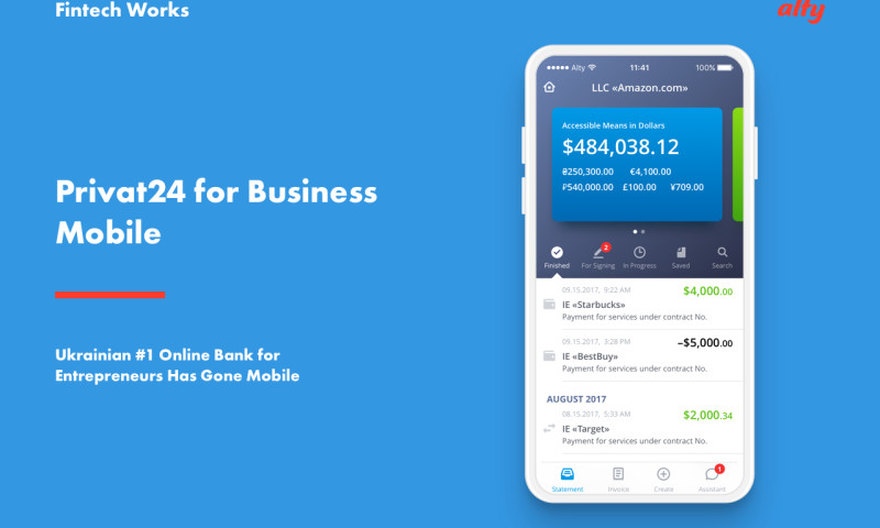 Alty - Mobile Banking App