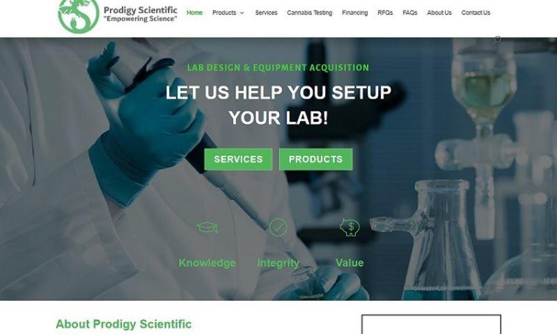 380 Web Designs - ProdigyScientific.com