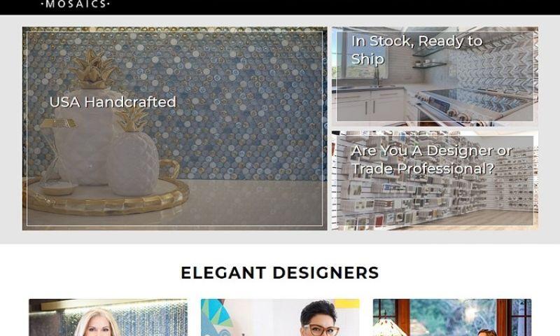 380 Web Designs - ElegantMosaics.com