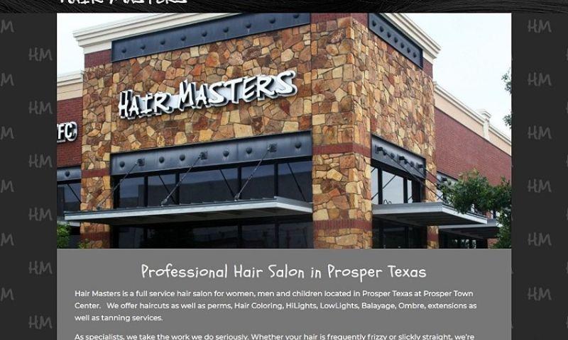 380 Web Designs - HairMasters.us