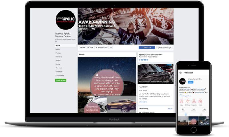 LOUD Marketing - Speedy Apollo Auto Service Centres