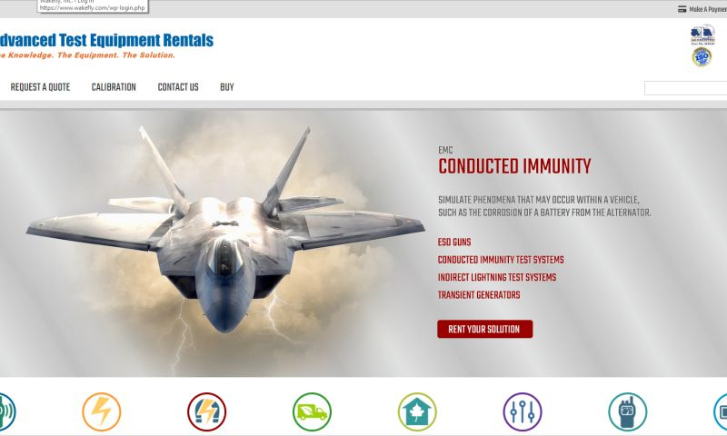 Wakefly, Inc. - Advanced Test Equipment Rentals (ATEC) Website Redesign, CMS Implementation & 3rd Party Integration