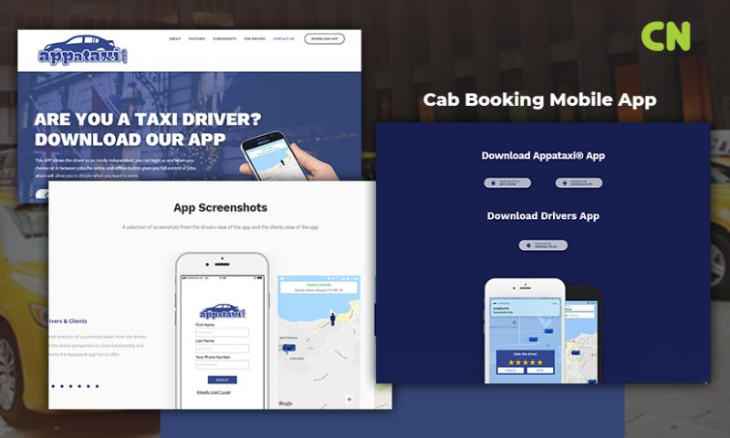 Capital Numbers - Cab Booking Mobile App