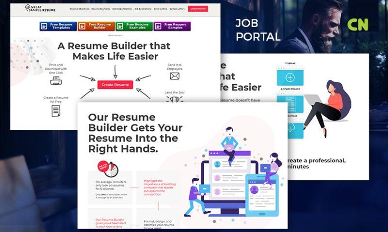 Capital Numbers - Job Portal