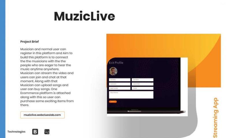 HourlyDeveloper.io - MuzicLive